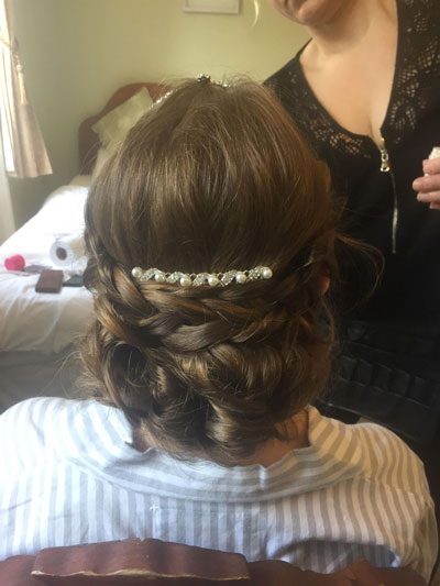 Beauty Withinn wedding hair and make up