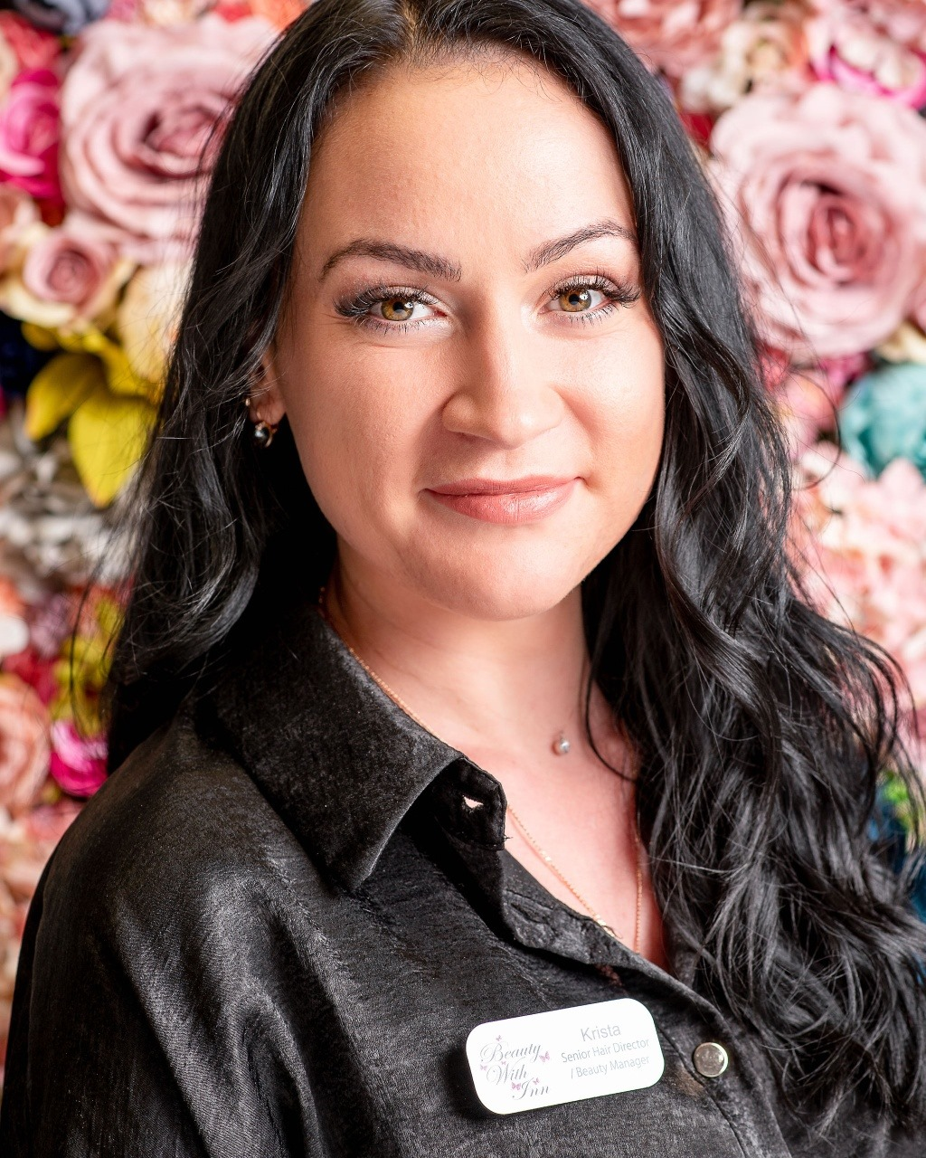 Krista senior women's stylist and Beauty and Hair Manager